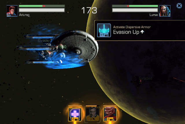 Ship Battles in Star Trek Timelines