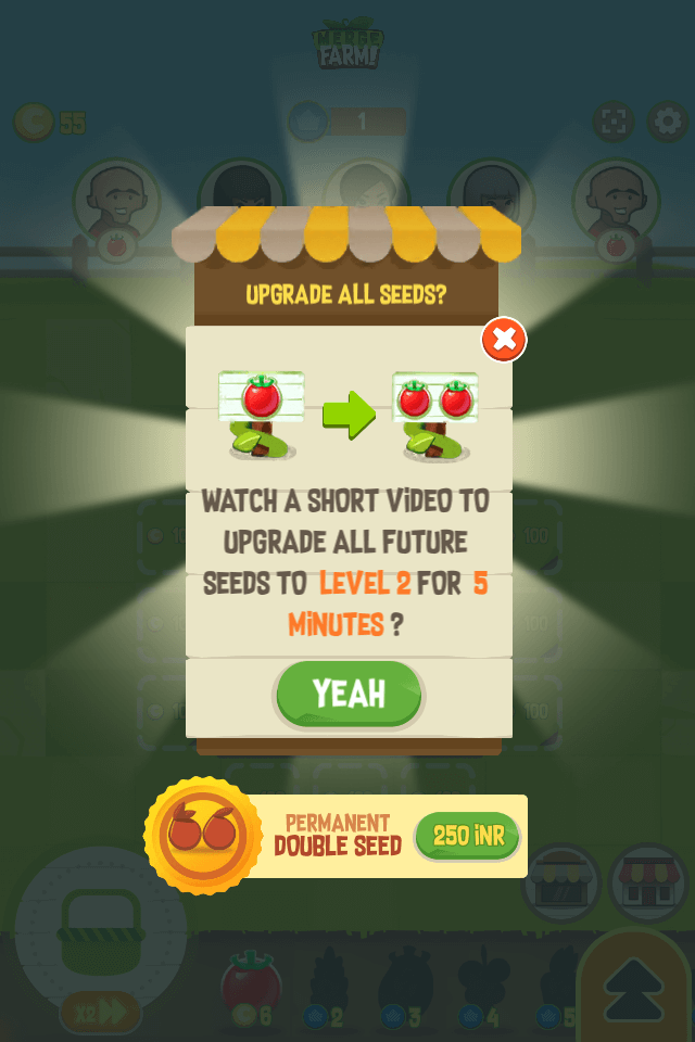 Crop Upgrade Boost