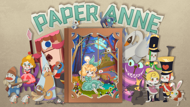 Explore a papercraft wonderland in PAPER Anne, the new puzzle platformer now featured on the App Store