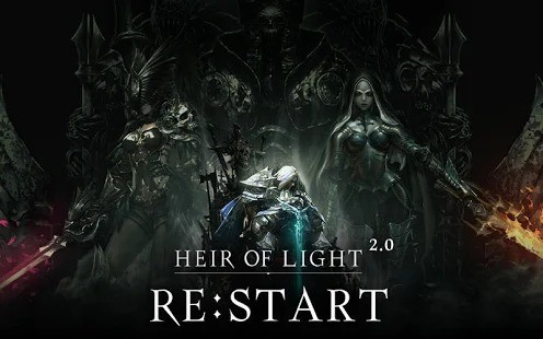 Heir of Light Restart Update